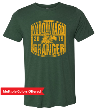 Woodward Granger Fall '19 - Unisex Triblend Short Sleeve Tee (2019 Design)