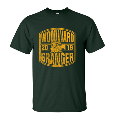 Woodward Granger Fall '19 - Youth/Adult 100% Cotton Short Sleeve Tee (2019 Design)