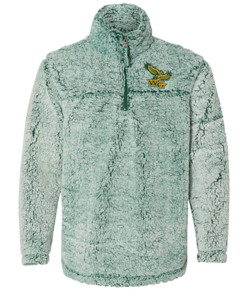 Woodward Granger PTO 2019 - Youth/Adult Sherpa 1/4 Zip Pullover (WG Embroidery)
