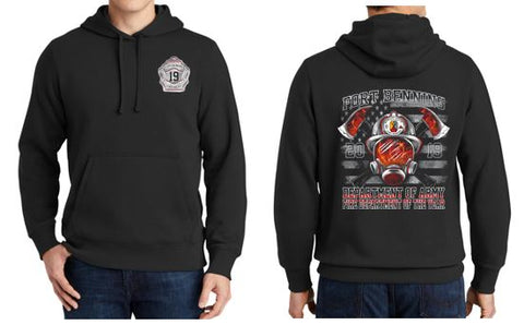 Fort Benning - Youth/Adult Pullover Hooded Sweatshirt