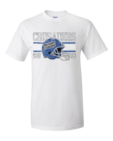 Bondurant Crusader Football - Tshirt (Available in Multiple Colors)