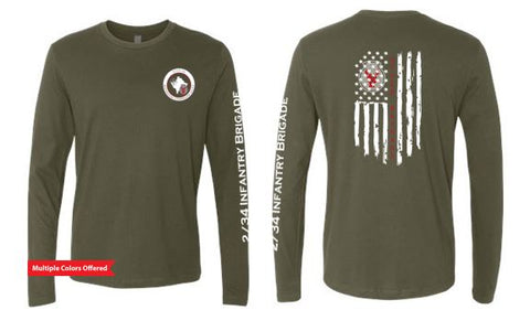 2/34 Infantry Brigade Troop Store - Unisex Long Sleeve T-Shirt