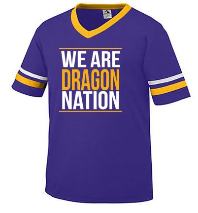 Johnston '18 Fall Order - We are Dragon Nation (Striped Sleeve)