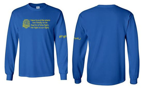 Fight For KJ - Youth/Adult Long Sleeve T-Shirt