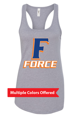 Iowa Elite Force Spring '20 - Women's Ideal Racerback Tank (F Design)