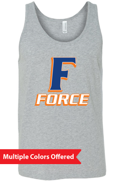 Iowa Elite Force Spring '20 -  Adult Tank Top (F Design)