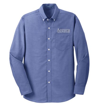 Accura Healthcare - Unisex Oxford Shirt (Multiple Colors)