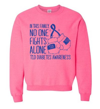 Team MoMo - Adult Crewneck Sweatshirt