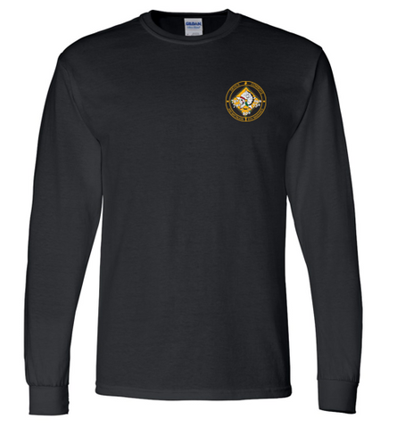 2nd Battalion 6th Marines - DryBlend 50/50 Long Sleeve Tshirt (LEFT CHEST ONLY)