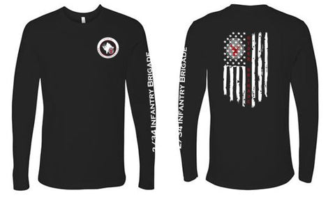 2/34 Infantry Brigade Civilian Store - Unisex Long Sleeve T-Shirt