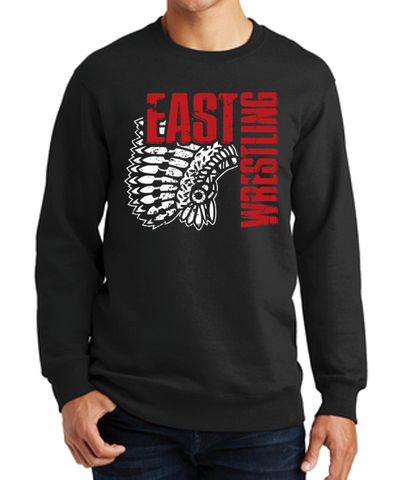 East High Wrestling Club - Unisex Crewneck Sweatshirt