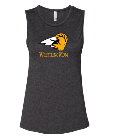 SEP Wrestling - Ladies Muscle Tank (Wrestling Mom)