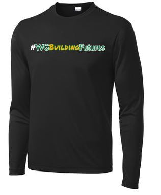 WG Spring '20 - Youth/Adult Polyester Long Sleeve T-Shirt (Building Futures)