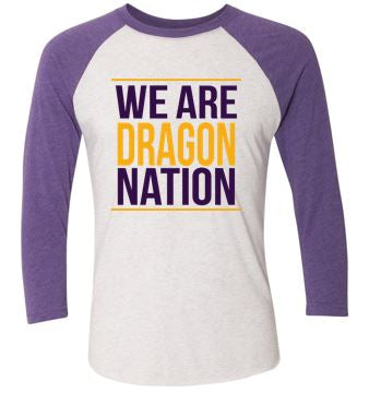 Johnston '18 Fall Order - We are Dragon Nation (Raglan)