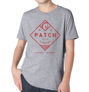 Patch Spirit Wear - Youth/Adult Next Level Grey Short Sleeve T'Shirt