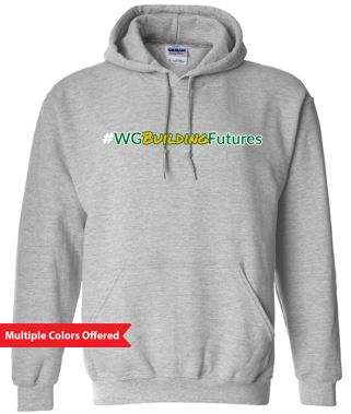 WG Spring '20 - Youth/Adult Hooded Sweatshirt (Building Futures)