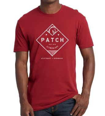 Patch Spirit Wear - Youth/Adult Next Level Cardinal Short Sleeve T'Shirt