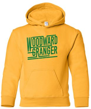 Woodward Granger Fall '18 - Youth/Adult Hooded Sweatshirt (Retro)