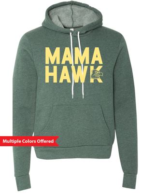 WG Spring '20 - Adult Sponge Fleece Hoodie (Mama Hawk)