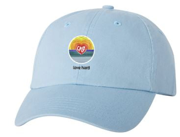 Love Hard - Classic Dad's Cap (Multiple Colors)