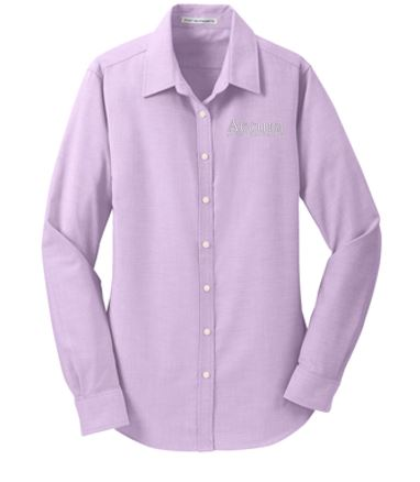 Accura Healthcare - Ladies Oxford Shirt (Multiple Colors)