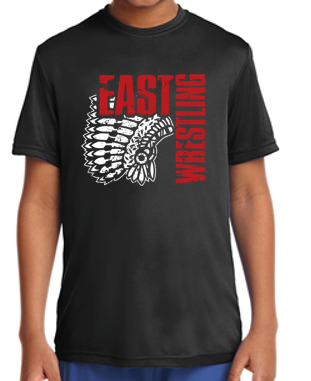 East Junior Wrestling - Youth Competitor Tshirt