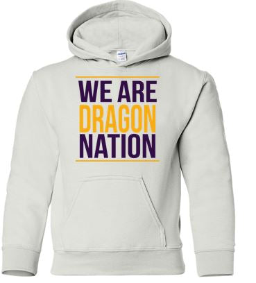Johnston '18 Fall Order - We are Dragon Nation (White Hoodie)