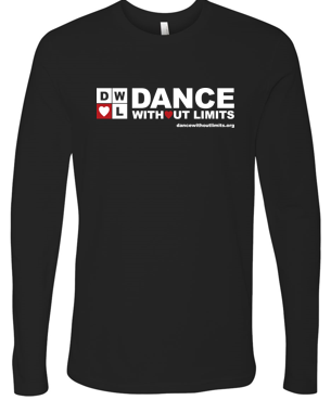Dance Without Limits - Adult/Unisex Long Sleeve Tshirt in Multiple Colors