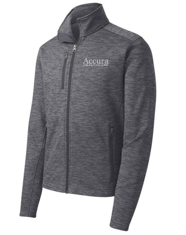 Accura Healthcare - Unisex Digi Fleece Jacket (Multiple Colors)