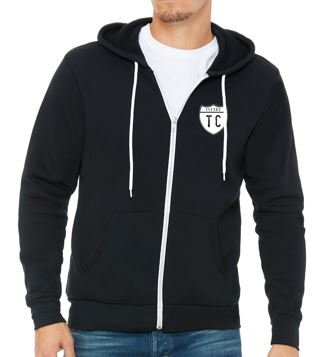 1133rd TC - Adult Unisex Midweight Full Zip Hoodie (Various Colors Available)