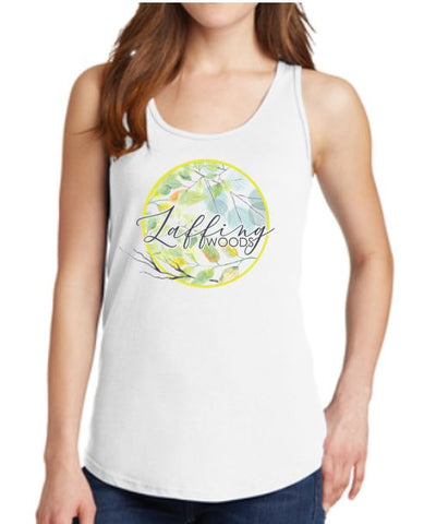 Laffing Woods Ladies Tank Top