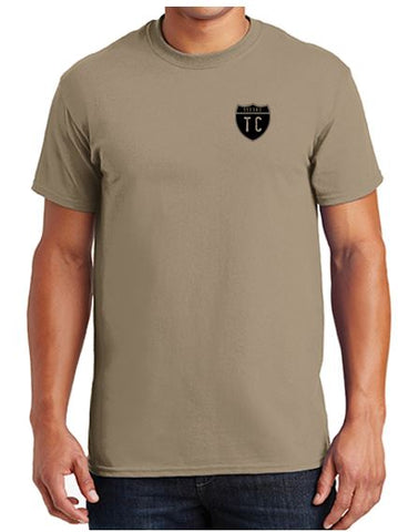 1133rd TC - Army Compliant PMS499 Coyote Brown 50/50 T-Shirt
