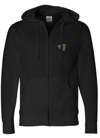 Johnston '18 Fall Order - Unisex Full-Zip Hoodie (EMB)