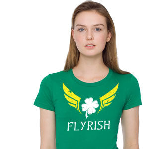 So Flyrish T-Shirt St. Patrick's Day Broken Arrow Tees