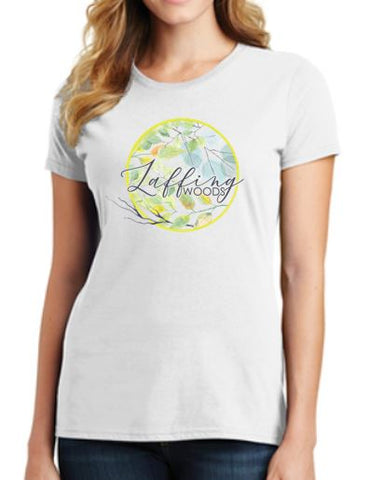 Laffing Woods Ladies T-Shirt