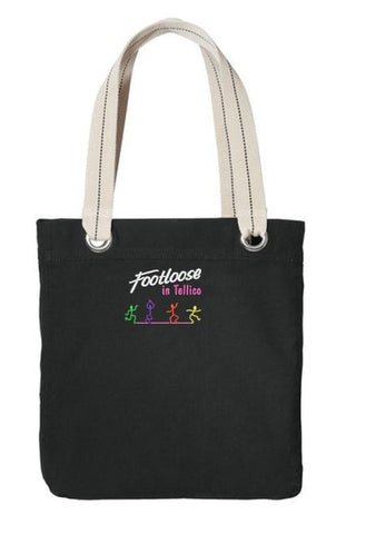 100% Cotton Tote Footloose in Tellico Tote