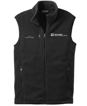 Des Moines Performing Arts - Unisex Eddie Bauer Fleece Vest (Multiple Colors)