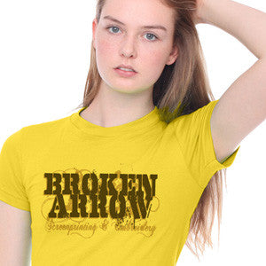 Broken Arrow T-Shirt Digital Printing American Apparel