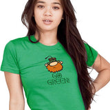Go Green T-Shirt Digital Printing Broken Arrow St. Patrick's