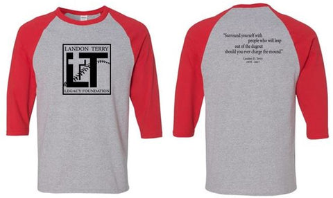 LTL Foundation 3/4 Sleeve Baseball Tee