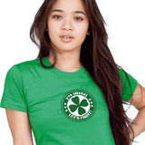 I'm Irish Let's Fight T-Shirt Digital Print Broken Arrow