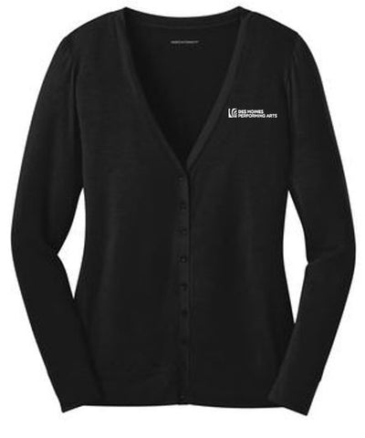 Des Moines Performing Arts - Ladies Concept Cardigan (Multiple Colors)