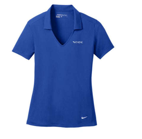 Athene - Nike Ladies Dri-Fit Vertical Mesh Polo