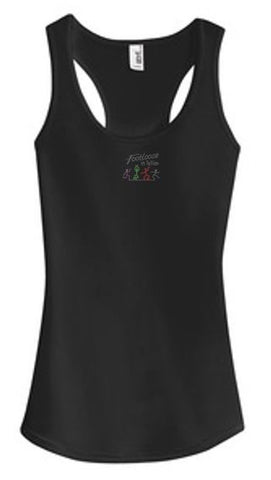 Footloose in Tellico Raceback Tank Top