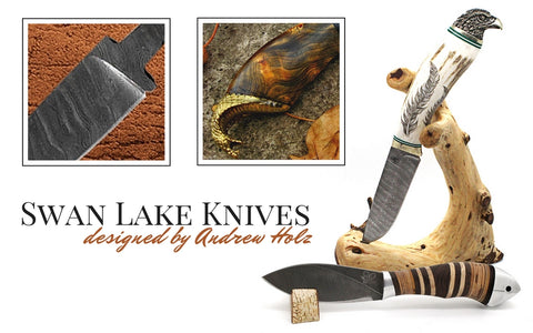 swan lake knives by andrew holz wilmington nc
