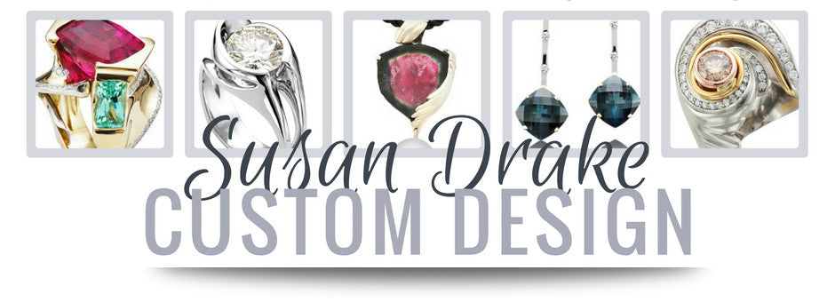 Custom ring and fine jewelry designer susan drake
