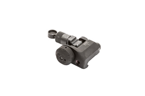 KAC KNIGHT'S ARMAMENT COMPANY Folding Rear Sight, 200-600 Meter Adjustable KM98474