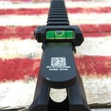 KAC Knights Armament Anti Cant Device users view mounted on receiver