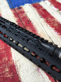 KAC Knights Armament Panel Kit, Wire Management, Keymod BLK