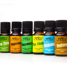 Essential Oil Starter Kit Expansion Pack | Benzoin, May Chang, Tangerine, Tea Tree, Vetiver, Rosemary